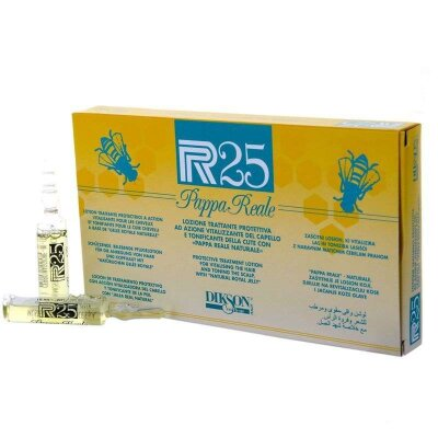 P.R.25 РАРРА REALE Лосьон для волос и кожи головы. Защитный и тонизирующий эффект пчелиного  молочка 10х10мл