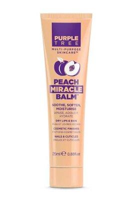 Purple Tree бальзам для губ и ухода за кожей с персиком | Purple Tree Peach Miracle Balm