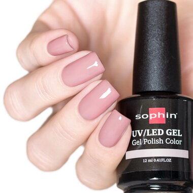 0730 GEL POLISH COLOR Цветной UV/LED гель-лак, 12мл ''soft nylon''