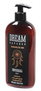 DREAM CATCHER Universal 3 in 1 шампунь, гель для душа, кондиционер  500 мл