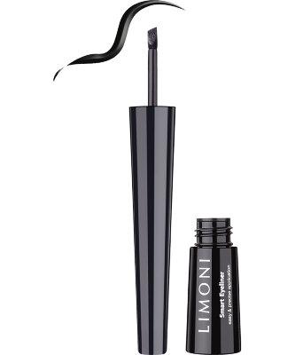 LIMONI Подводка со скошенным аппликатором Smart Eyeliner 01 black