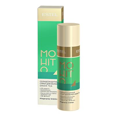 Estel  Солнцезащитный спрей для волос Зелёный чай ESTEL MOHITO, 100 мл