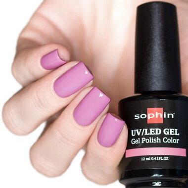 0732 GEL POLISH COLOR Цветной UV/LED гель-лак, 12мл ''rose petal''
