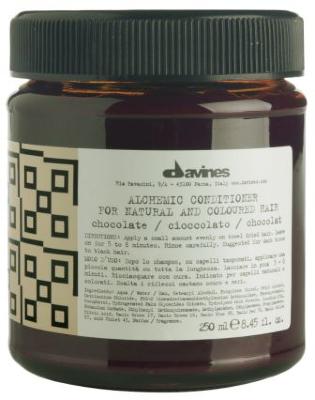 """DVNS """"АЛХИМИК"""" Кондиционер для натуральных и окрашенных волос (шоколад) 250ml"""