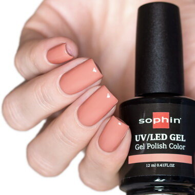 0733 GEL POLISH COLOR Цветной UV/LED гель-лак, 12мл ''sweet praline''