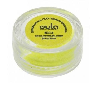 Wula nailsoul глиттеры для ногтей 5гр., желто-зеленый неон