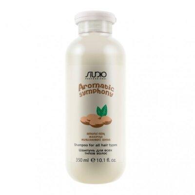 Шампунь для всех типов волос «Молочко миндального ореха»350 мл