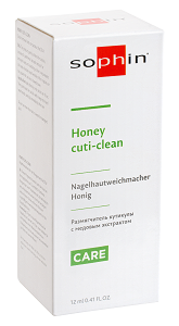Honey Cuti-Clean-Размягчитель кутикулы с медовым экстрактом, 12 мл